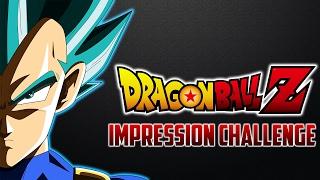 Vegeta Takes On The DBZ Voice Impression Challenge!!!!