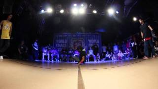 Bboy Dereleek vs. Bboy Hong10 | UK B-Boy Champs World Finals 2011