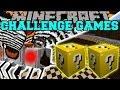 Minecraft: MOTHRA CHALLENGE GAMES - Lucky Block Mod - Modded Mini-Game