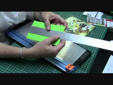 atelier carterie carte d 39 invitation anniversaire son enveloppe youtube. Black Bedroom Furniture Sets. Home Design Ideas