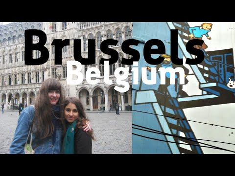 Brussels, Belgium Travel Video - Getting Close to