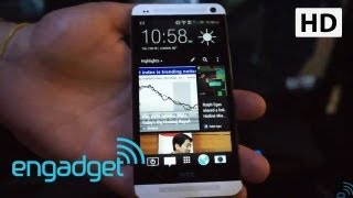 HTC One Software Hands-on | Engadget