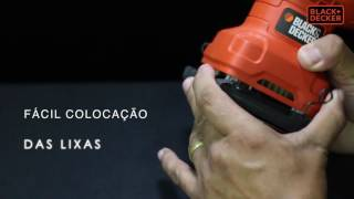 LIXADEIRAS ORBITAIS SS200 CD450 BLACK + DECKER