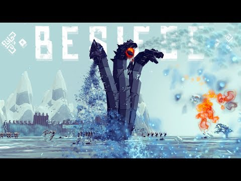 Besiege - Cooking A Tesla? Giant 3-Headed Hydra & A Flying Turtle - Besiege Best Creations
