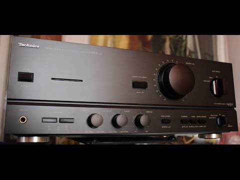Amplifier Technics su-v570 pxs cap.