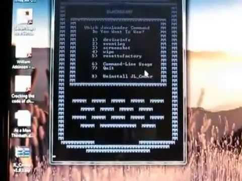 Cómo instalar y utilizar | JL_Cmder | Para Wipe Blackberry
