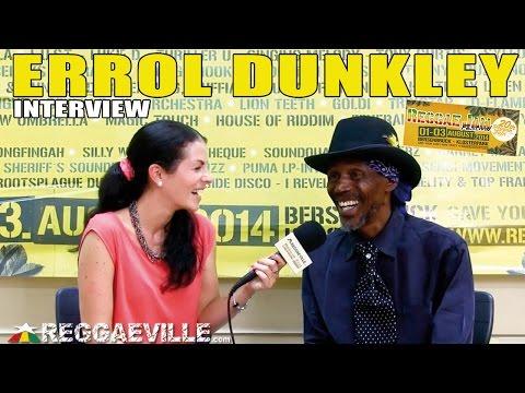 Interview with Errol Dunkley @ Reggae Jam 2014