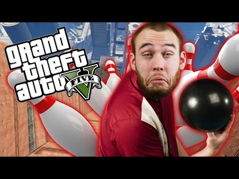 BOWLING IN GTA - GTA 5 Online Funny Moments