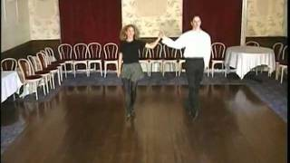 Ирландские тацны. Olive Hurley - Irish Dancing Step by Step Vol. 1 (отрывок)