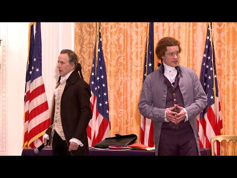 Thomas Jefferson and Alexander Hamilton Debate