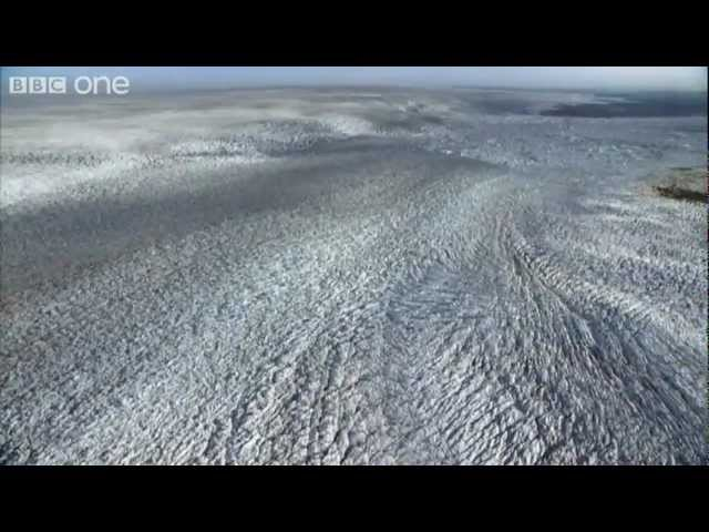Glaciation in action - Frozen Planet - BBC One