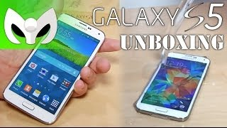 UNBOXING Galaxy S5 Español (MarcianoStyle)