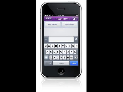 Yahoo! Messenger for iPhone Demo Video
