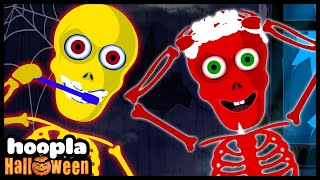 This Is The way | Morning Routine with Skeletons | Funny Halloween Nursery Rhymes for Kids