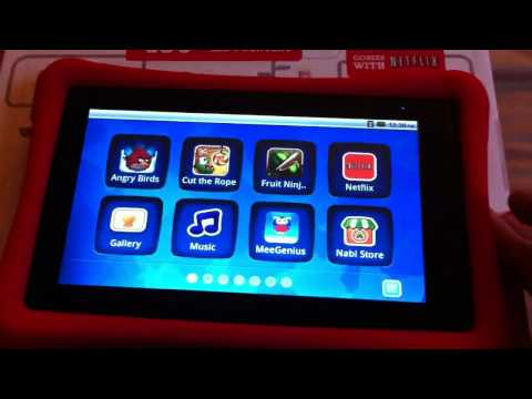 NABI Kids Tablet with ANDROID (nabi 1 older model)