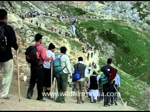 Amarnath Yatra, the Hindu pilgrimage of Kashmir