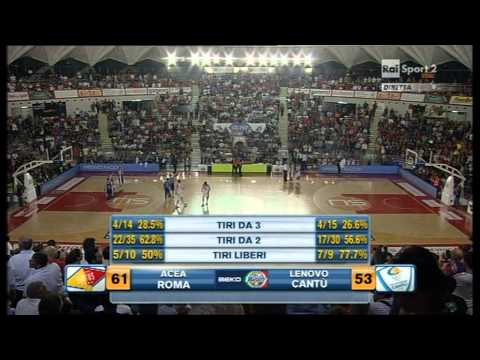 Virtus Acea Roma - Lenovo Cantu semifinale №7 2nd half