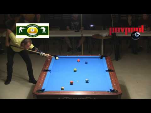 Day 1, Pt 2  – 'The Decider!' – Earl Strickland vs Shane VanBoening / August 2013