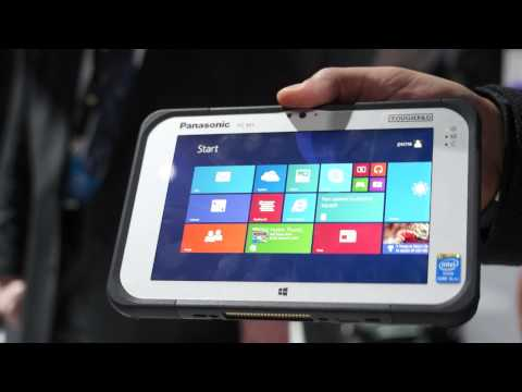 Panasonic ToughPad FZ M1 Windows 8.1 Pro, Rugged Tablet, 7 inch, Hands On - iGyaan