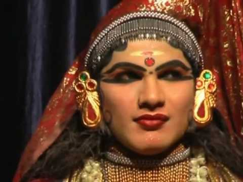 Kathakali Dance  kathakali Eye Exercise video