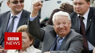 The day Boris Yeltsin said goodbye to Russia - BBC News