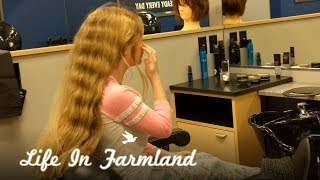 7 Year Old Cutting Hair To Donate  - Wigs For Kids - Vlog