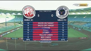 SIMBA SC 5-0 MBAO FC; VPL, FULL HIGHLIGHTS (26/02/2018)