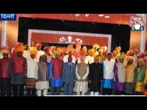 India, African Leaders Sport Modi Kurtas At India-Africa Summit