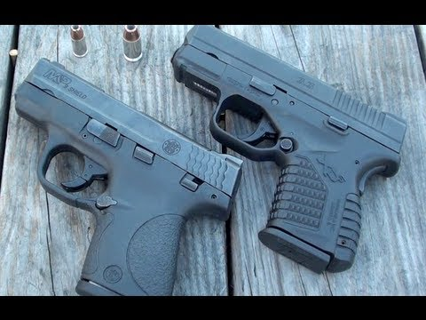 XDS VS SHIELD (SIZE COMPARISON)