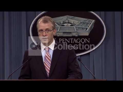 PENTAGON BRFG- SYRIA 'DONT' GET COMFORTABLE'