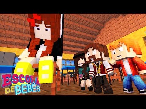 Minecraft : ESCOLA DE BEBÊS ( Baby School Daycare) - A TIA MISS ESTÁ GRÁVIDA !!