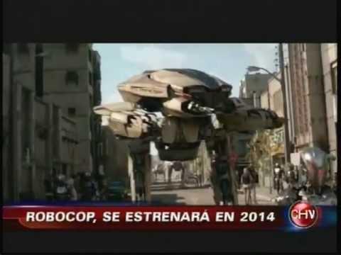 ROBOCOP SE ESTRENA EN 2014 CHVNOTICIAS 06 09 2013)