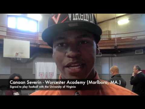 Worcester Academy Football National Signing Day