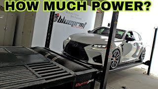 How Much Horsepower Does My Lexus GSF Really Have? DynoJet