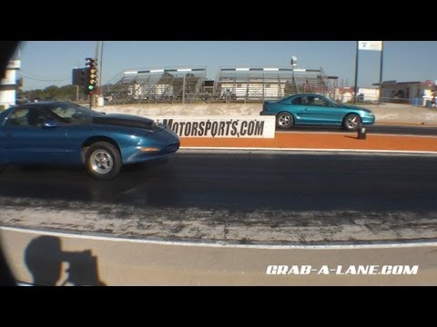Nitrous Firebird spots Vortech SN95 w/ Nitrous 2.5 cars to the 1/8 mil