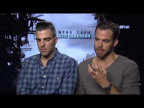 Chris Pine & Zachary Quinto - STAR TREK INTO DARKNESS -- Interview