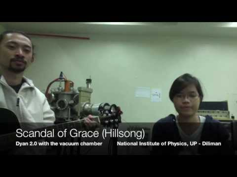 Scandal Of Grace Cover By Dyan Buan 2.0 And The Vacuum Chamber video