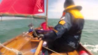 Warsash to Bembridge in a Mirror Dinghy