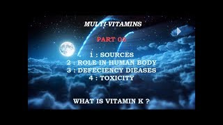 Vitamin K ? Part 05 ( Urdu - Hindi )
