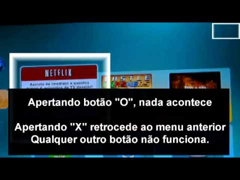 Problemas com o netflix no ps3 - Netflix is not working on ps3