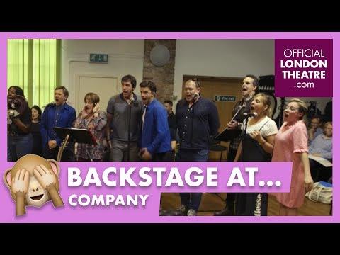 Sondheim's Company Sitzprobe (music rehearsal)