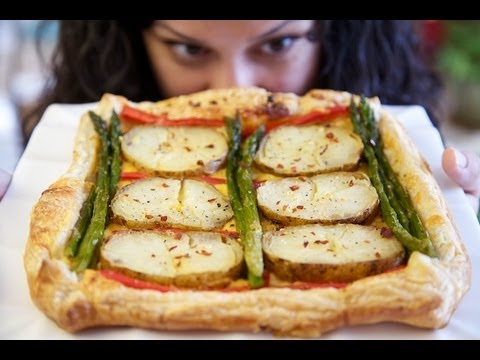 How to make a Baked Potato Asparagus Tart