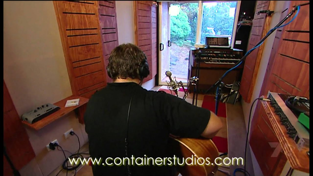 Shipping Container Recording Studio Mpg Youtube