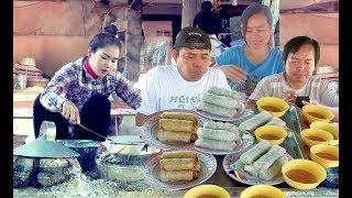Visit Spring Roll Wrapper Village in Battambang Province | Spring Roll Cambodian Traditional Food