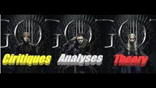 Game of throne S.8 E.4 analyses, critiques et théories!