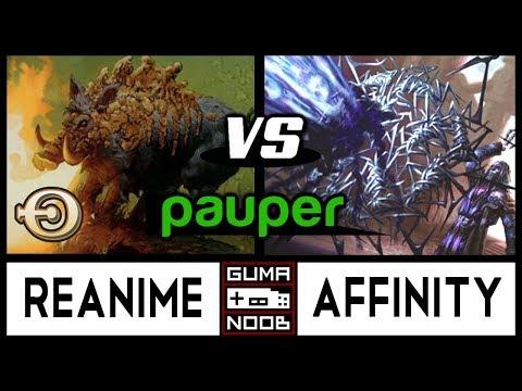 Pauper - BR REANIMATOR vs AFFINITY