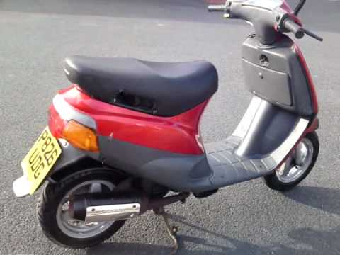 1996 piaggio zip 50 scooter moped 2 owner new mot fast. Black Bedroom Furniture Sets. Home Design Ideas