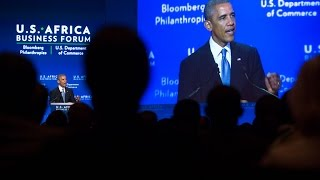 President Obama Delivers Remarks at the U.S.-Africa Leaders Summit