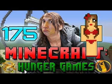 Minecraft: Hunger Games w/Mitch! Game 175 - Bikini Babe!