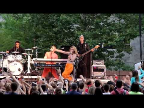 Karmin Performs Hello At Indiana State Fair 2013 video